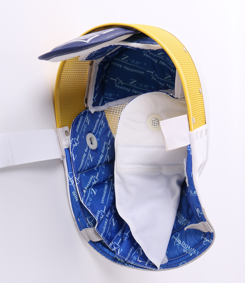 "Foil Mask with removable Bib CE350N ""Z, Colorful"""