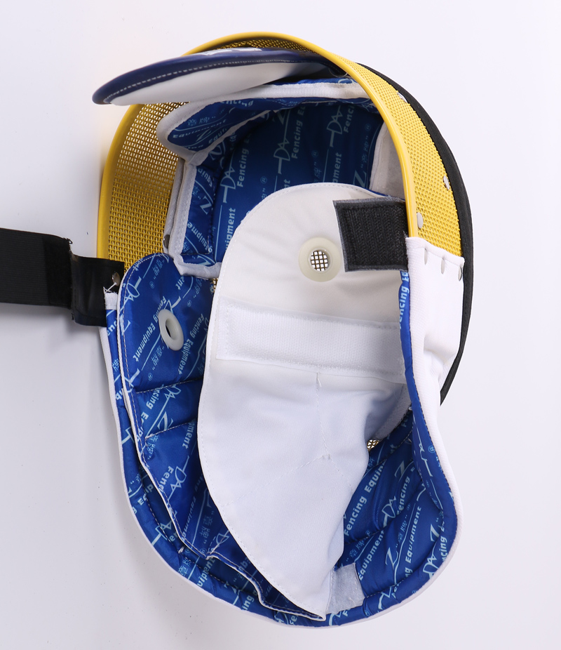 "Epee Mask with removable Bib CE350N ""Z, Colorful"""