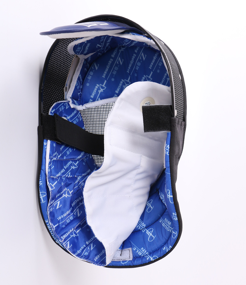"""Coach Epee Mask BLACK with removable Bib CE350N """"Z"""""""