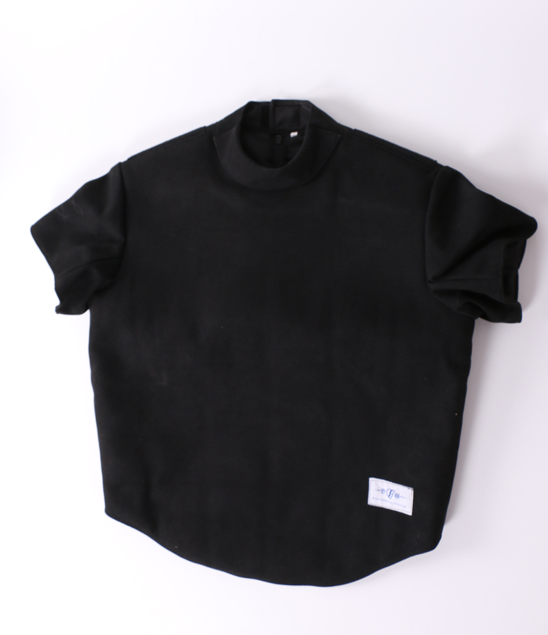 Master Plastron Leather with Short sleeve