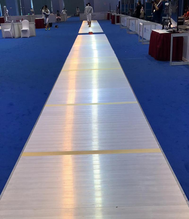 Aluminum Fencing Piste  FIE 1.5x18m
