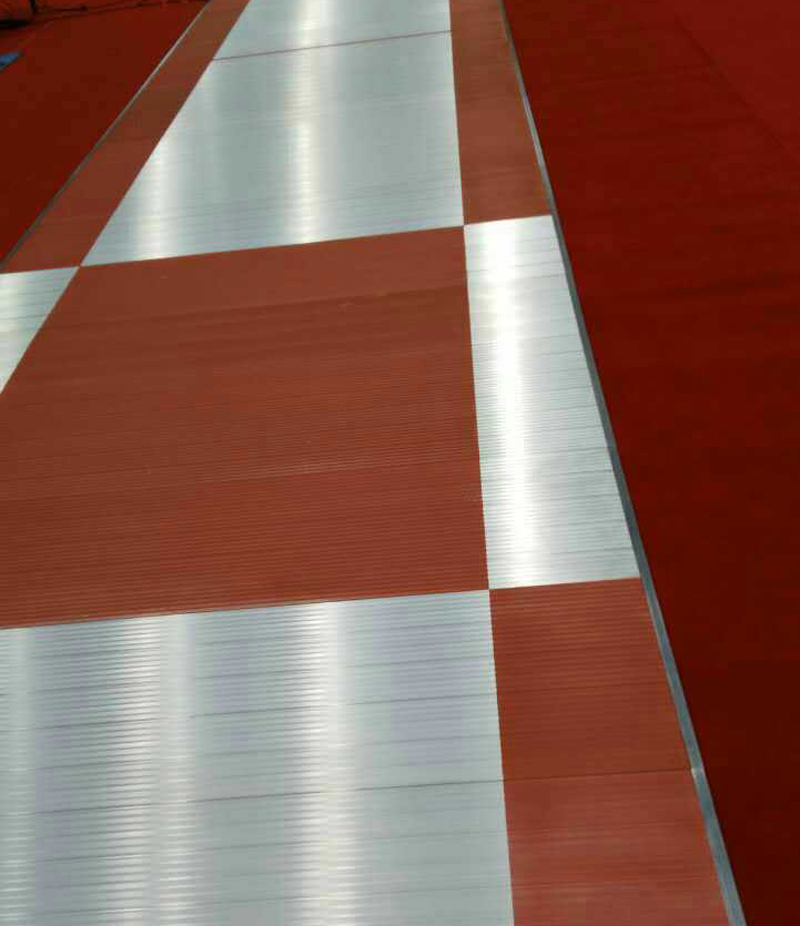 Printing for Fencing Piste